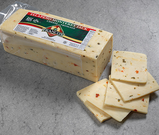 is monterey jack cheese spicy